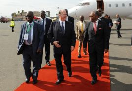 The Ismaili: Mawlana Hazar Imam arrives in Nairobi