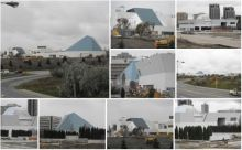 Aga Khan Museum and Ismaili Centre Toronto Construction Photographs November 2012