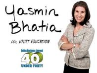 Yasmin Bhatia: 40 Under Forty Awards Honoree
