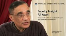 faculty insight with Professor Ali Asani