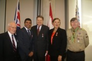 Taleeb Noormohamed receives Queen Elizabeth II Diamond Jubilee Medal