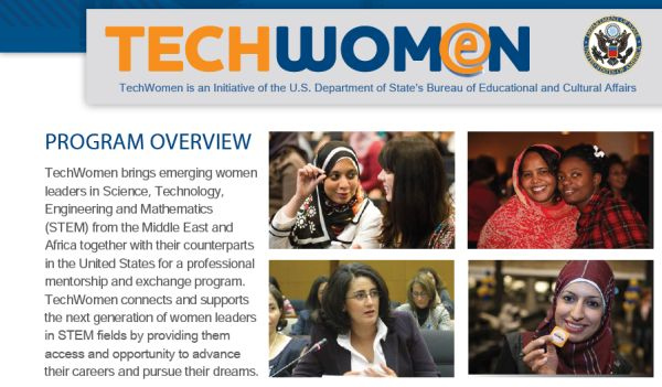 TechWomen is accepting applications for the 2013 program