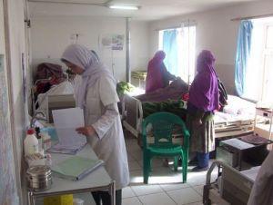Bamyan Provincial Hospital in Afghanistan
