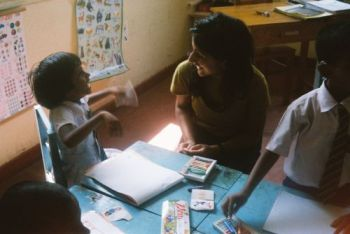 Aliya Gulamani: Teaching at Deaf School in Sri Lanka