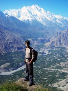 Imran Hunzai: Ecstasy on the top of Hunza Valley