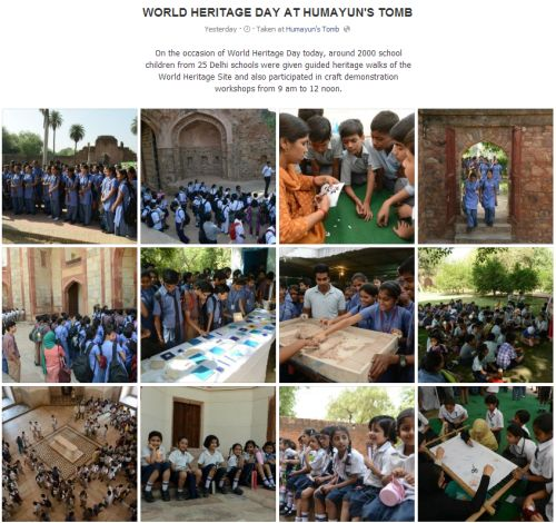 World Heritage Day at Humayun's Tomb