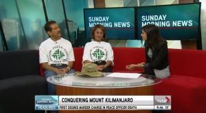 Blind climber scales Mt Kilimanjaro