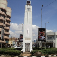 Kisumu's Landmark Town Clock built in memory of Kassim Lakha