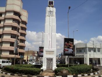Kisumu's Landmark Town Clock built in memory of Kassim Lakha