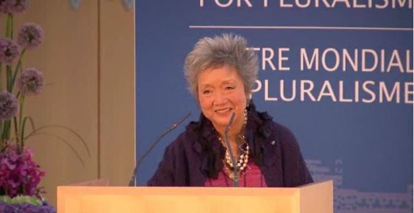 Video: Closing Remarks: The Rt. Hon. Adrienne Clarkson, Global Centre for Pluralism, Annual Lecture 2013