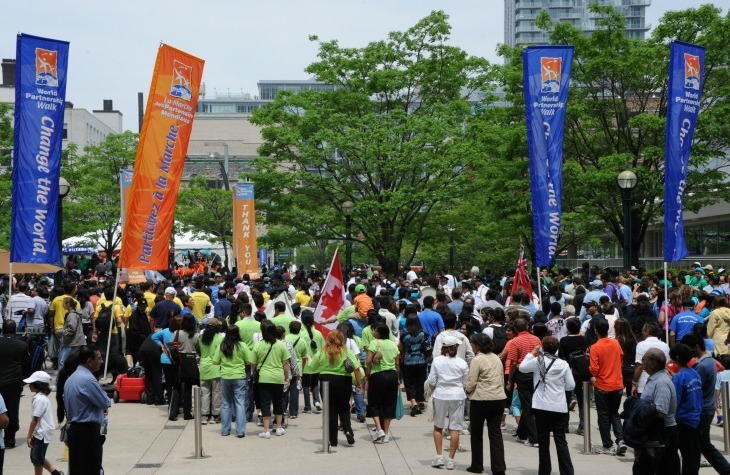 Toronto joins World Partnership Walk to fight global poverty