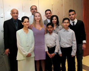 Dentist Dr. Amin Shivji and family endows conference room at University of British Columbia