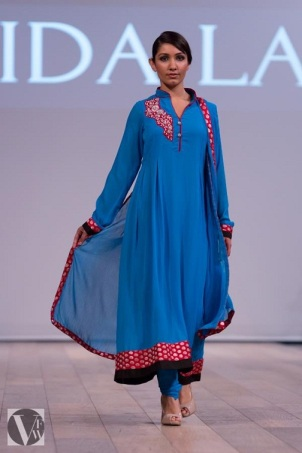 Farida Lalji at Vancouver Fashion Week 2013
