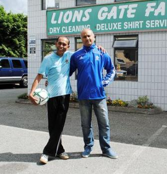 Amyn Bhulji & Minoo Kanji: North Van drycleaner plans soccer camp for orphans in Tanzania