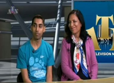 Aleem Visram and Rumina Velshi ATN Interview
