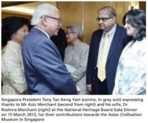 Aziz and Reshma Merchant: Heritage heroes lauded for giving to the arts