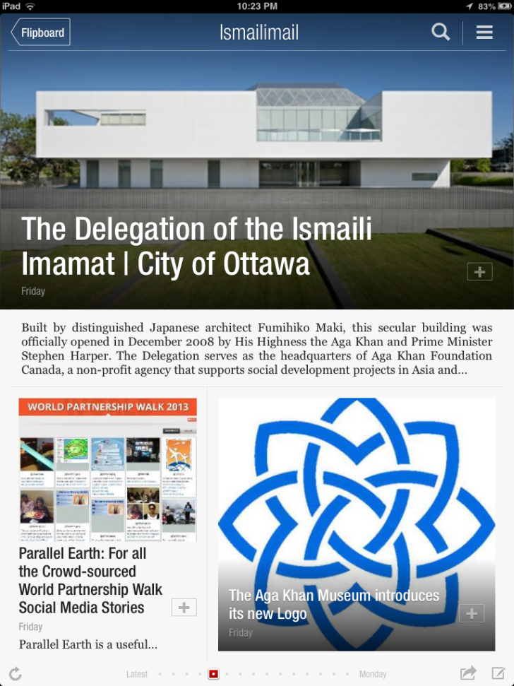 Ismailimail is on Your Mobile Devices