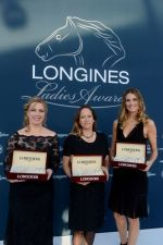 Princess Zahra Aga Khan receives Longines Ladies Award 2013