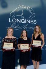 Princess Zahra Aga Khan receives Longines Ladies Award 2013