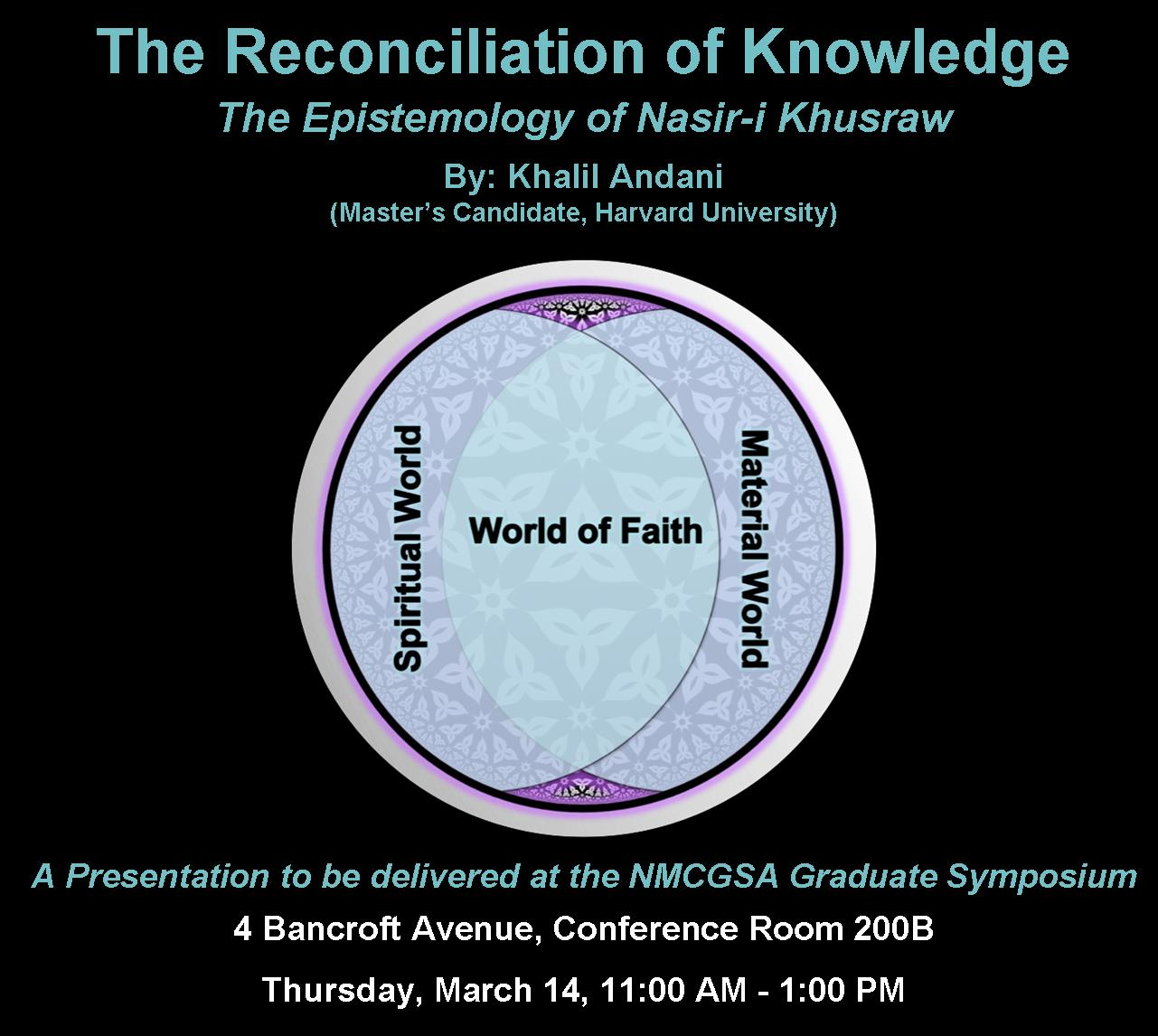 Video: The Concept of Knowledge ('ilm) in Nasir-i Khusraw's Philosophy, by Khalil Andani