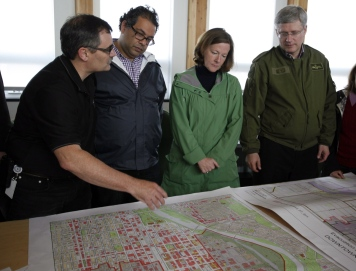 State of Emergency - During the Calgary Floods, with Canadian Prime Minister Stephen Harper, Alberta's Premier Alison Redford and Calgary City Official