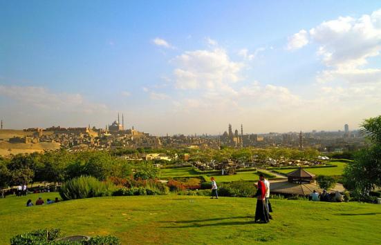 Al-Azhar Park, Cairo | Six Trees