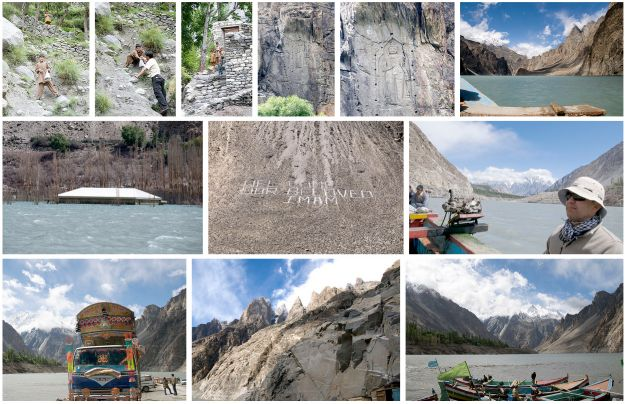 dadima: Short trip to Hunza to view damage done by the 2010 slide