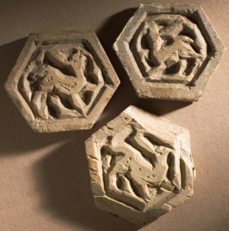 Polygonal elements Egypt, Islamic; Fatimid, 11th century Sculpture