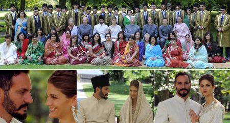 Prince Rahim Princess Salwa Wedding Sep 2013
