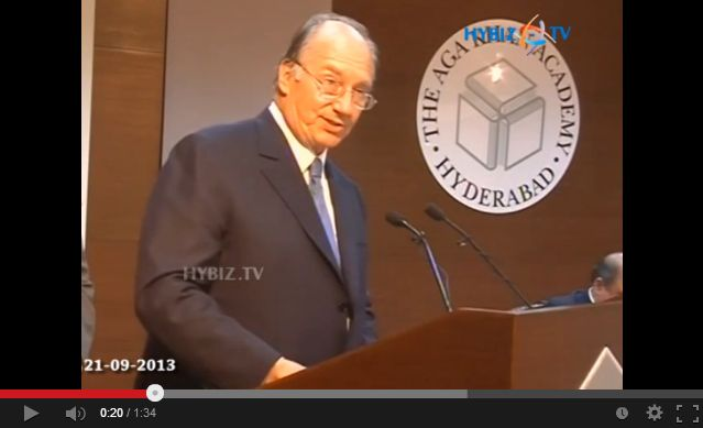hybiztv: His Highness the Aga Khan Speaks at Inauguration of Aga Khan Academy Hyderabad