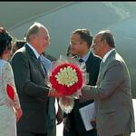 Prince Karim Aga Khan IV arrives on official visit to India