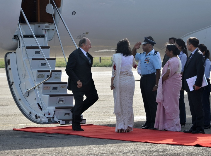Official Visit of His Highness The Aga Khan to India (17-28 Sept, 2013)