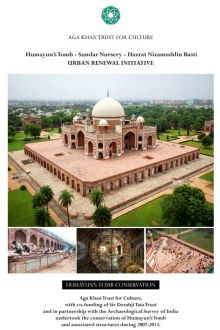 Humayun's Tomb Conservation Brief - A Focus on the Tomb's Restoration (PDF)