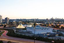 September 17, 2013: Aga Khan Museum Toronto - Night Lights