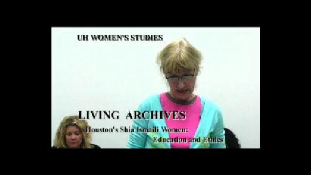 Houston's Shia Ismaili Women: Education and Ethics; Women & Religion