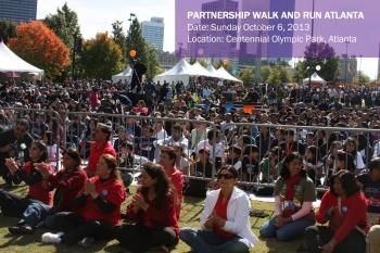 Aga Khan Foundation USA will hold its Annual Partnership Walk/Run in Atlanta on Sunday October 6