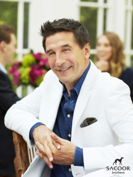 Fashion: William Baldwin for Sacoor Brothers
