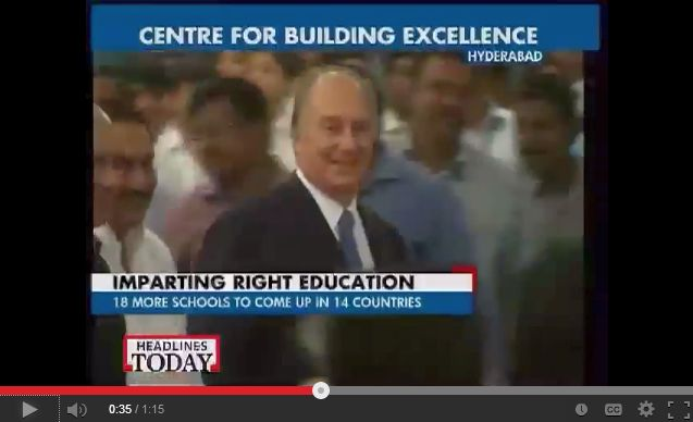 Aga Khan Academy unveiled in Hyderabad