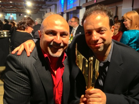 Amin Bhatia, Co-winner of Best Music Score, 2013 Canadian Screen Awards