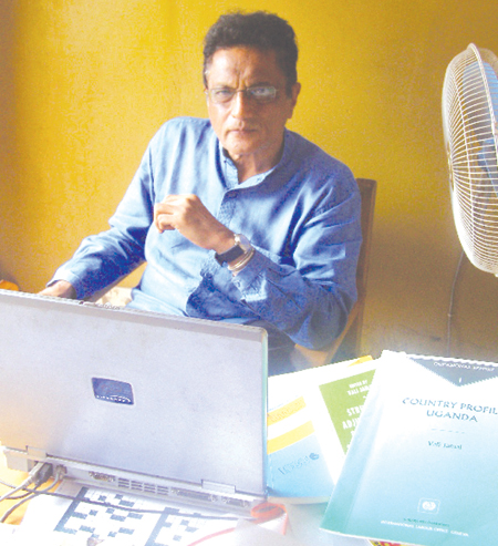 The Observer - Meet the compiler of Ugandan Asians' history