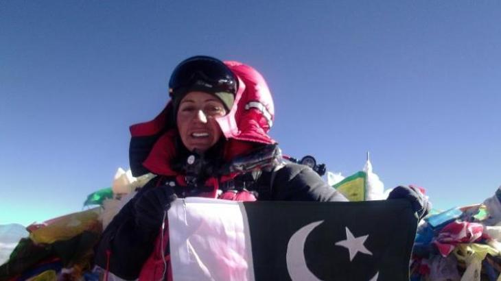 Pakistan's first female Everest conqueror Samina Baig sets new goals