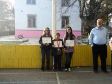 Tabreek and Faizaan Somani successfully retained their Spelling Bee title for the second consecutive year at the QSI International School of Bishkek