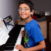 Adam Kassam: Profoundly deaf eight-year-old from Swiss Cottage wins piano funding