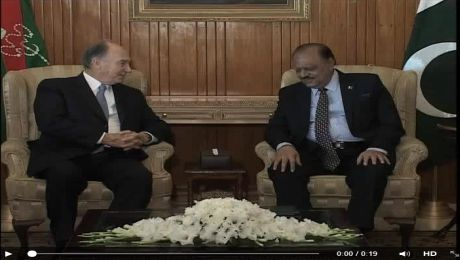 President of Pakistan, Mamnoon Hussain lauds social services of Prince Karim Aga Khan