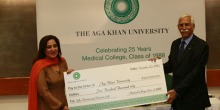 Giving Back: AKU MBBS Class of '88 gifts US$ 500,000 as endowment