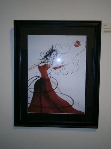 Photographs from the Art Exhibition featuring works by Ismaili Muslim Artists