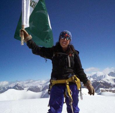 Pakistan's Amazon Warrior: Samina Baig, The Young Woman Who Climbs Mountains, Literally