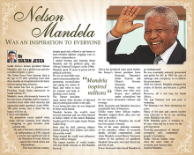 Tribute to Nelson Mandela, by Sultan Jessa