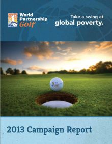 Canadian edition of the World Partnership Golf raises $1.5 Million in 2013