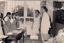 Historical Photograph: Young Imam at HH Aga Khan's Girls School, Dar es Salaam